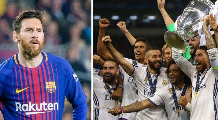 Lionel Messi öfundar Real af sigurgöngunni í Meistaradeildinni undanfarin ár