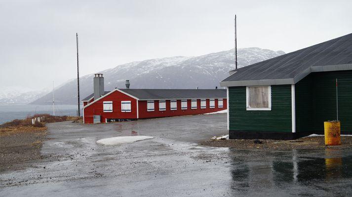 Frá flotastöð danska hersins í Grønnedal á Suður-Grænlandi.
