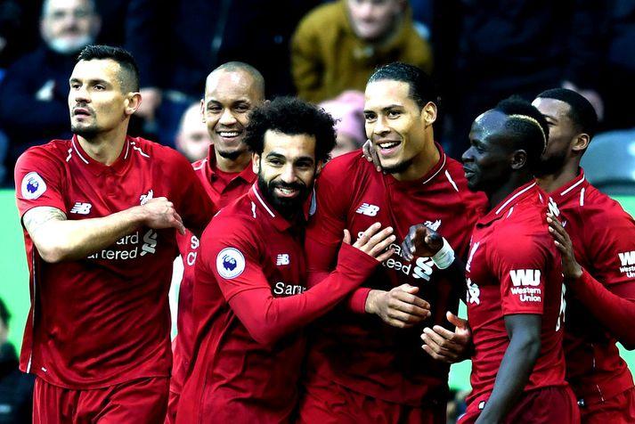 Virgil van Dijk, Sadio Mane og Mohamed Salah eru allir tilnefndir.