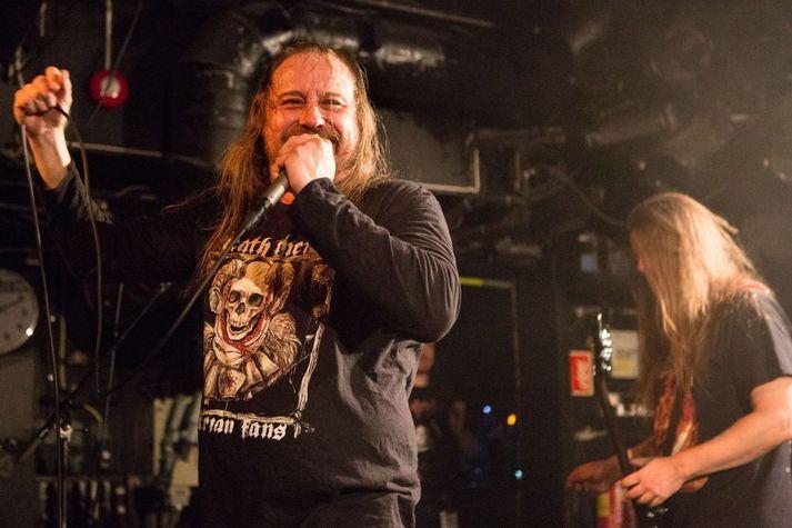 Lars-Göran Petrov á tónleikum í Osló árið 2019.