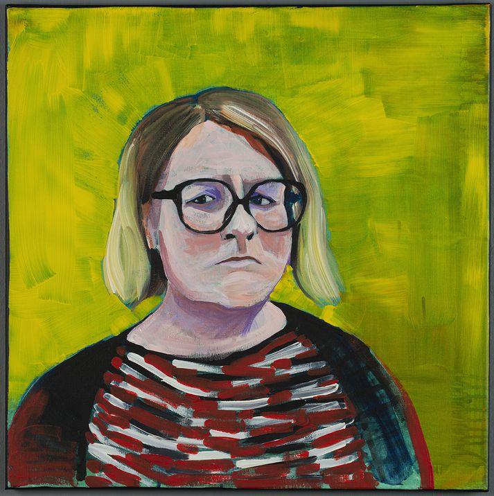 Portrett af Alison.