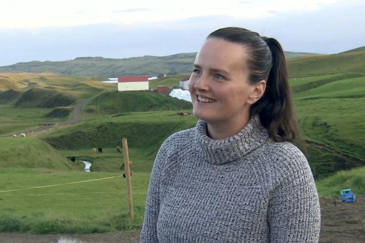 Auður Guðbjörnsdóttir, bóndi á Búlandi í Skaftártungu.