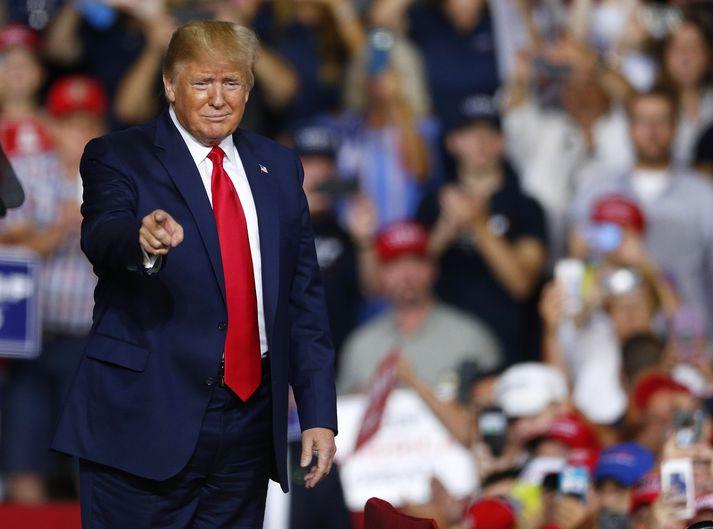 Donald Trump vill að Bandaríkin eignist Grænland.