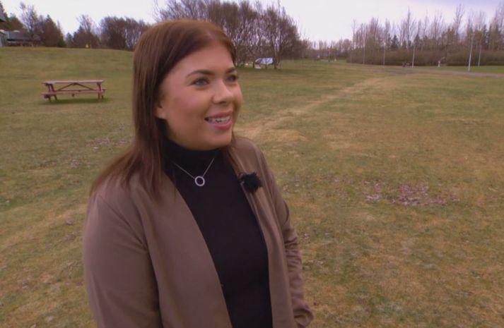Kara Kristel var í viðtali hjá Ásgeiri Erlends á Stöð 2 í gær.