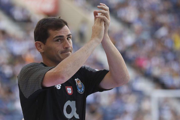 Casillas hefur ákveðið að kalla þetta gott enda orðinn 39 ára gamall.