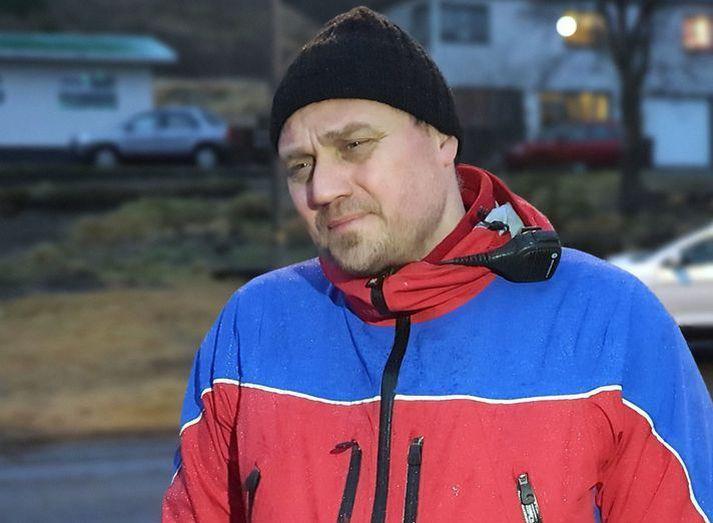 Davíð Kristinsson er varaformaður Björgunarsveitarinnar Ísólfs.