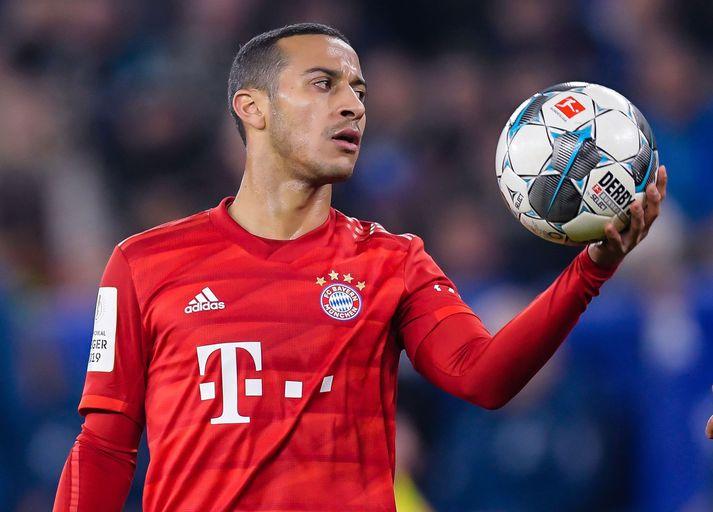 Eftir sjö ár hjá Bayern München er Thiago Alcantara tilbúinn að færa sig um set.