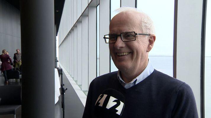 Helgi Tómasson árið 2016 þegar San Francisco-ballettinn sýndi í Hörpu.