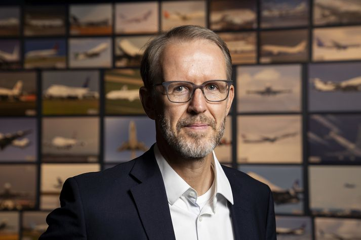 Hannes Hilmarsson fráfarandi forstjóri Atlanta.