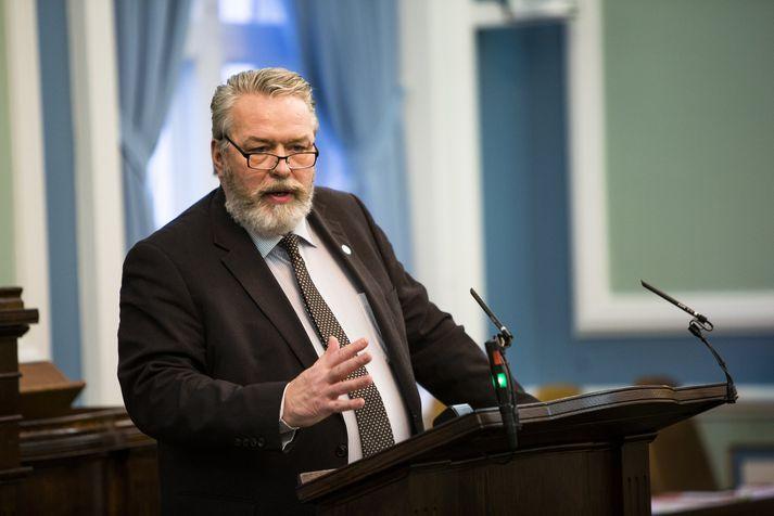Þorsteinn Sæmundsson, þingmaður Miðflokksins.