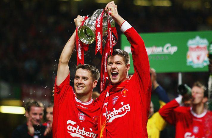 Owen segir að Liverpool hafi reynt að losna við Gerrard árið 2013.