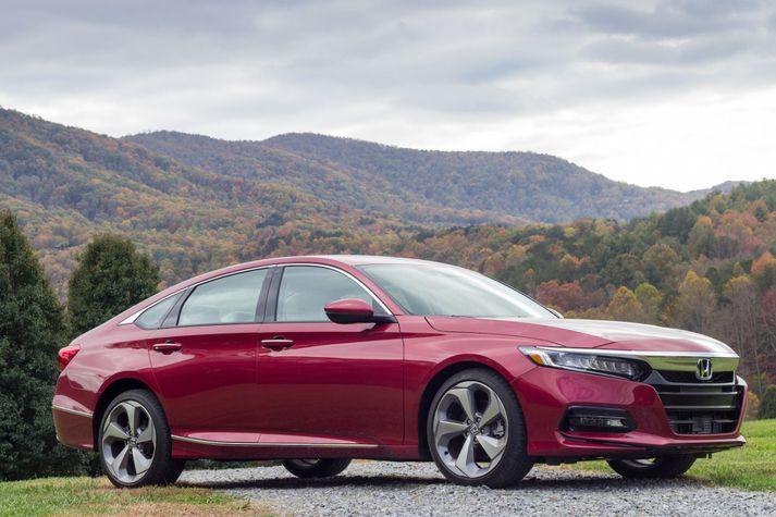 Honda Accord hefur í gegnum árin selst mjög vel í Bandaríkjunum.
