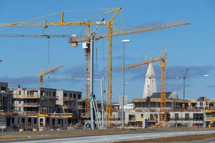 Mikið hefur verið byggt á höfuðborgarsvæðinu að undanförnu.