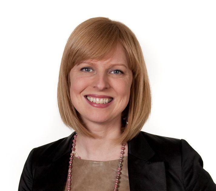 Kristín Linda Árnadóttir, nýr aðstoðarforstjóri Landsvirkjunar.