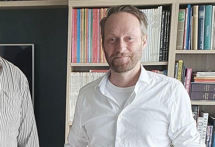 Georg Holm er bassaleikaru Sigur Rósar.