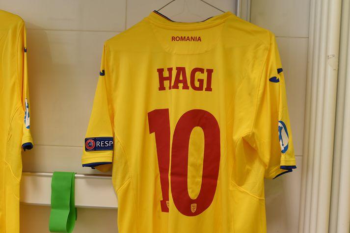 Hagi-feðgarnir eru báðir númer tíu.