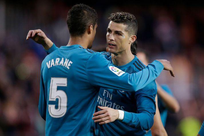 Raphael Varane og Cristiano Ronaldo munu sameina krafta sína á ný.