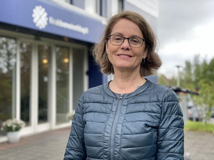 Laufey Tryggvadóttir er framkvæmdastjóri Krabbameinskrár Krabbameinsfélags Íslands.