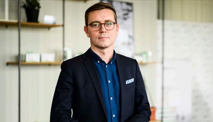 Frosti Ólafsson var ráðinn forstjóri ORF Líftækni fyrir tveimur árum en hann var áður framkvæmdastjóri Viðskiptaráðs á árunum 2013 til 2017.