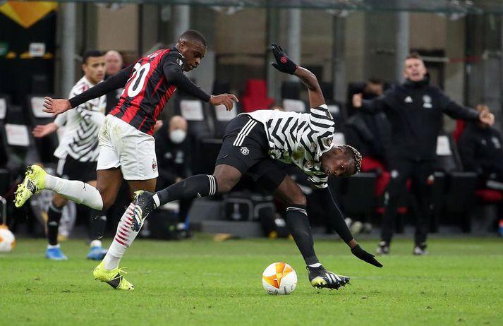 AC Milan og Manchester United eru með stofnmeðlima ofurdeildar Evrópu.