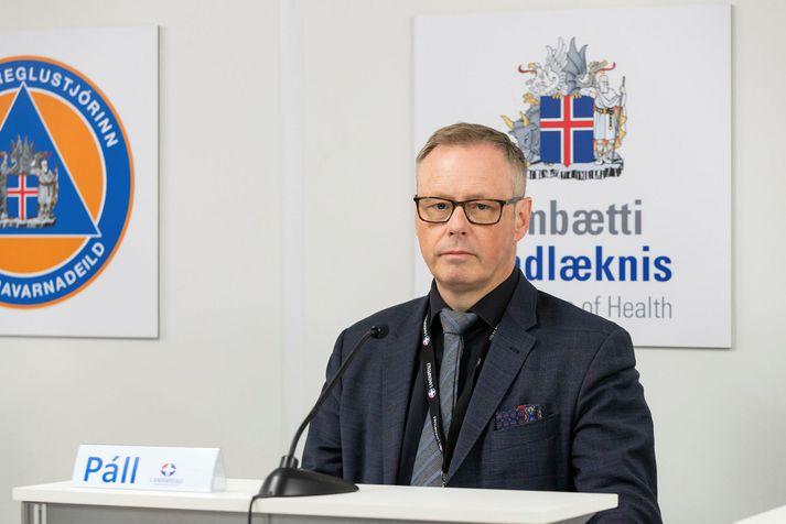 Páll Matthíasson, forstjóri Landspítalans, verður á fundinum auk tveggja annarra stjórnenda á spítalanum.