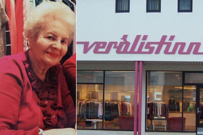 Erla Wigelund stóð vaktina í Verðlistanum á árunum 1965 til 2014.
