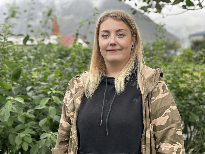 Katrín María Gísladóttir er 29 ára Ísfirðingur og nýr skólastjóri Lýðskólans á Flateyri.