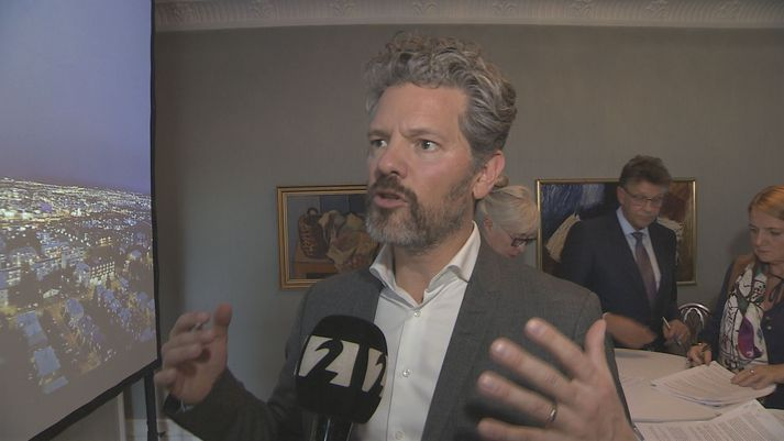 Dagur B. Eggertsson borgarstjóri mun kynna aðgerðaráætlun um grænt plan á borgarstjórnarfundi klukkan 14 í dag.