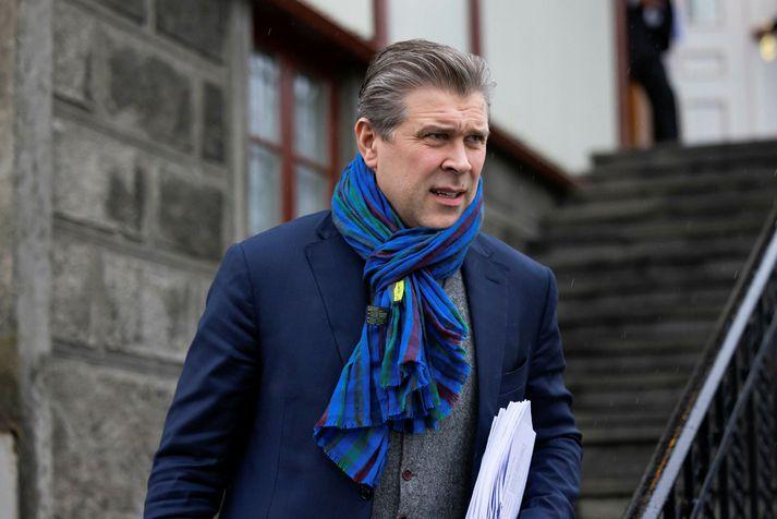 Bjarni Benediktsson fjármála- og efnahagsráðherra ætlar í bólusetningu við Covid-19, þegar röðin kemur að honum.
