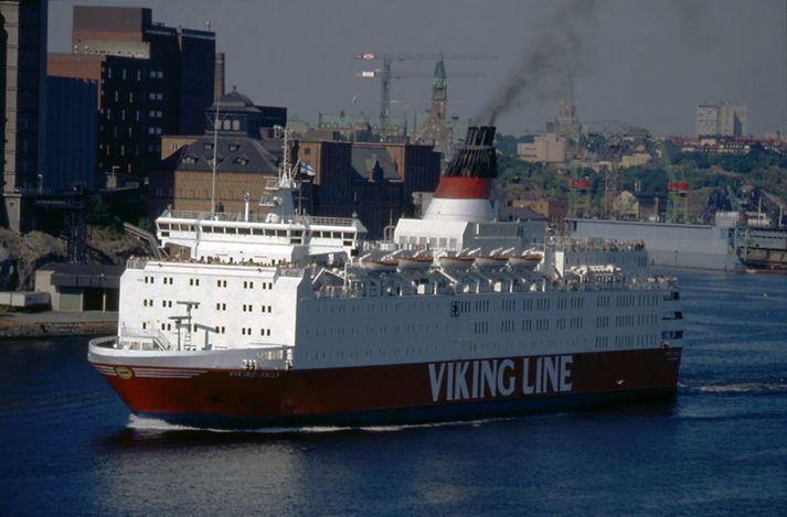Viking Sally í Stokkhólmi á níunda áratugnum.