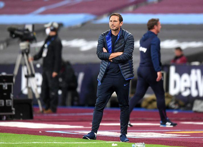 Frank Lampard og lærisveinar eru í fjórða sæti þessa stundina.
