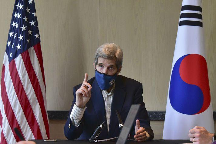 John Kerry, sérstakur erindreki Bandaríkjanna varðandi loftslagsmál.