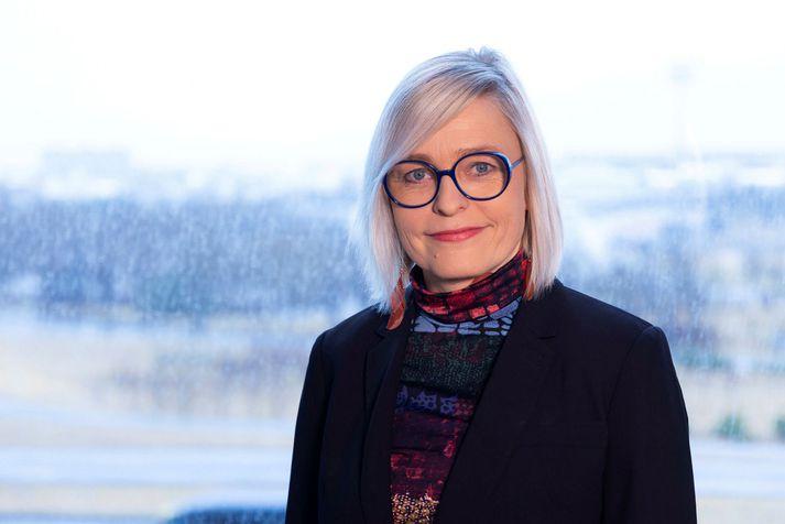 Kristín Jónsdóttir, jarðskjálftafræðingur.