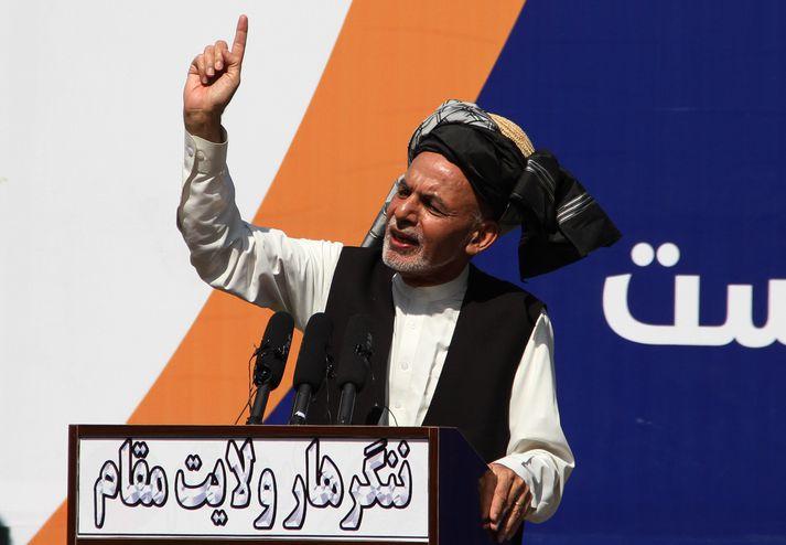Ashraf Ghani er forseti Afganistan.