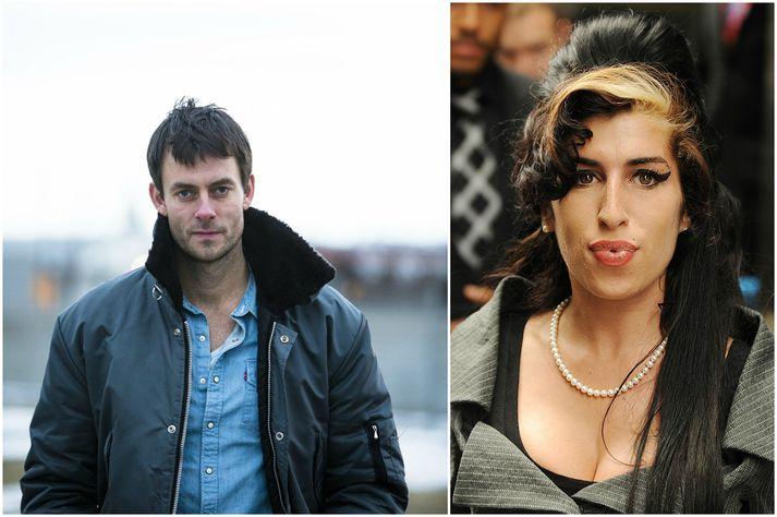 Faðir Amy Winehouse, Mitch Winehouse, bað Gísla Örn Garðarsson um að leikstýra söngleik um Amy árið 2015.