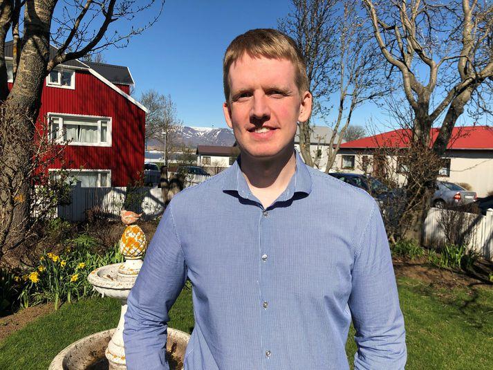 Jón Magnús Jóhannesson, sérnámslæknir á Landspítalanum.