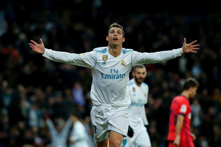 Ronaldo fagnar marki