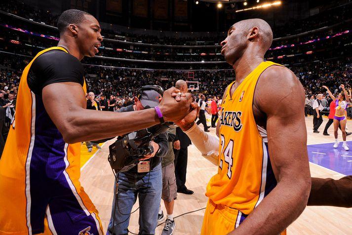 Dwight Howard og Kobe Bryant léku saman en náðu ekki saman.
