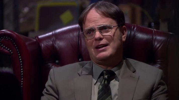 Féll Dwight fyrir hrekknum eða ekki?