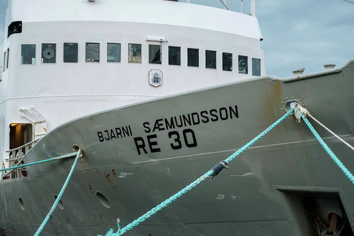 Bjarni Sæmundsson er eitt rannsóknarskipa Hafrannsóknastofnunar.