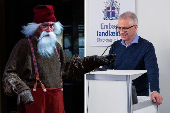 Þórólfur Guðnason sóttvarnalæknir ræðir um jólasveinana og Covid-19.