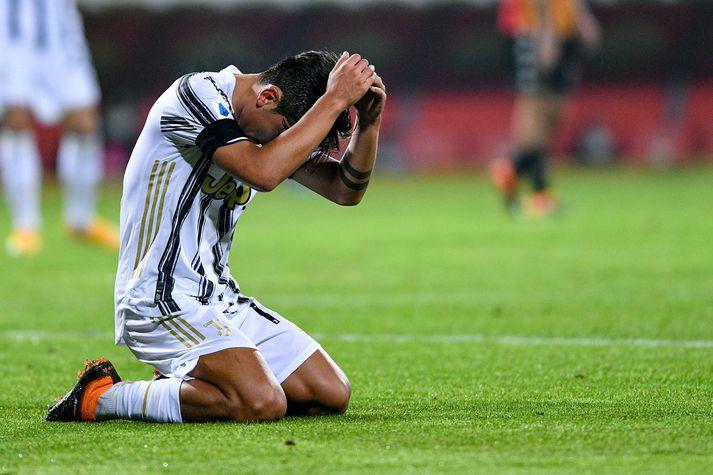 Paulo Dybala hefur átt betri daga en í dag.