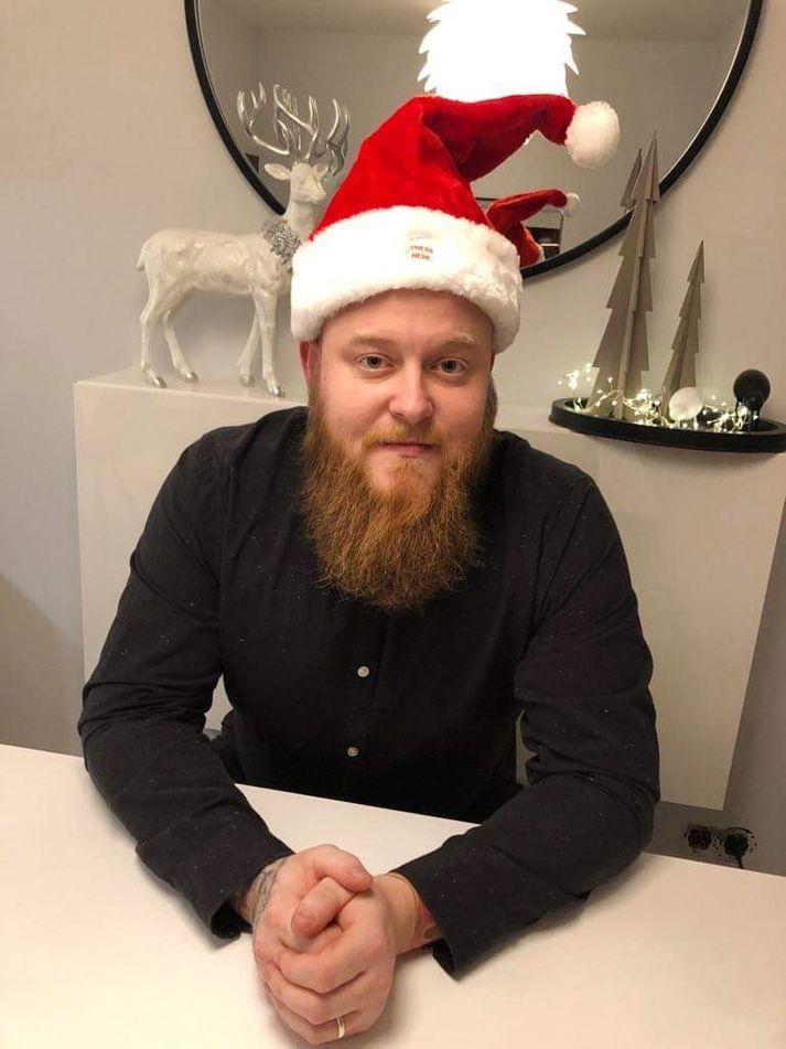 Alfreð Fannar Björnsson er snillingur þegar kemur að því að grilla.