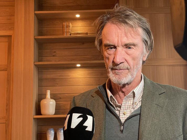 Jim Ratcliffe hefur undanfarin ár lagt sitt af mörkum til að styðja við íslenska atlantshafslaxinn.