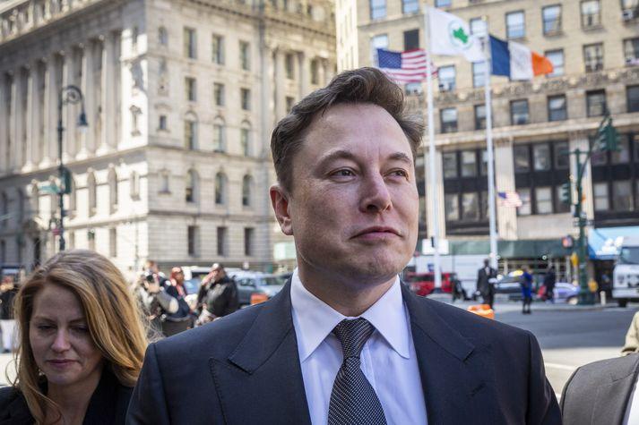 Elon Musk sagði að Tesla myndi byrja að þjónustu Íslendinga þann 9. september. Það virðist hafa staðist hjá stofnandanum.