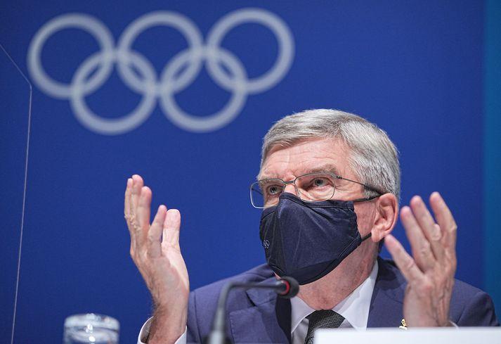 Thomas Bach, forseti IOC, staðfesti í dag að ÓL 2032 færu fram í Brisbane.