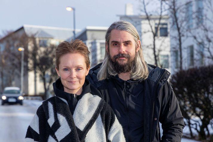 Andrea Eyland og Þorleifur Kamban eiga blandaða fjölskyldu. Þau segja mikilvægt að ræða vel saman, allir sem koma að uppeldi barnanna.