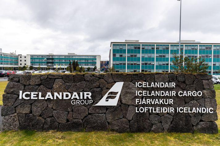 Mikið flökt hefur verið á hlutabréfaverði Icelandair Group undanfarið.