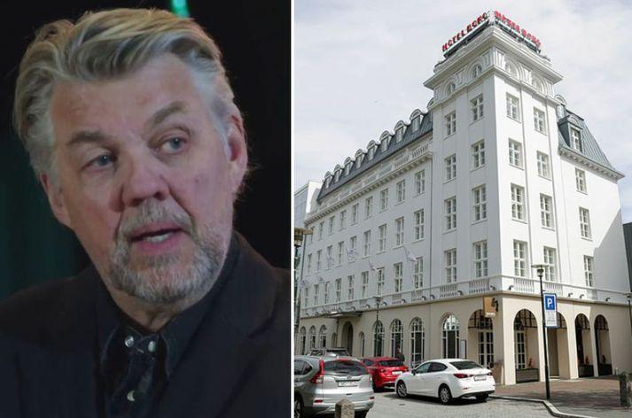 Helgi Björnsson er að setja á laggirnar veitingastað og dansstað á Hótel Borg.