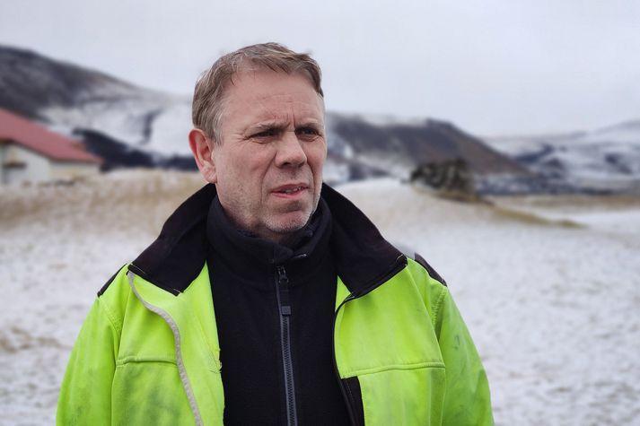 Gísli Grétar Sigurðsson verktaki er frá Hrauni við Grindavík.